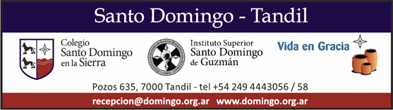 Instituto Superior Santo Domingo de Guzmán - Tandil