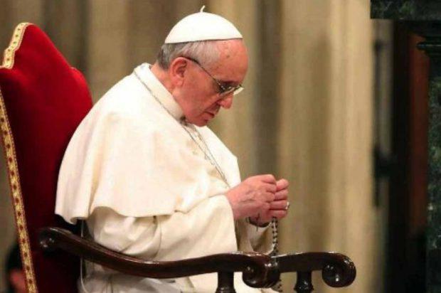 Los rosarios del Papa