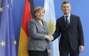 La Canciller alemana Angela Merkel visita Buenos Aires el 8 de junio