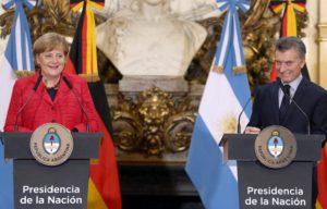 Angela Merkel. Una visita signada por coincidencias