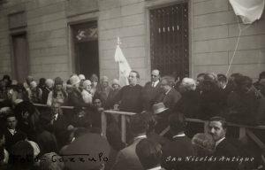 Monseñor Franceschi en la Academia de Letras
