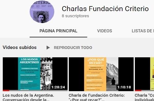 Charlas Criterio